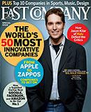 portada de fast company marzo 2009