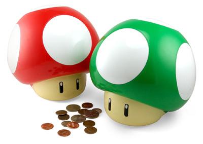 honguitos y monedas