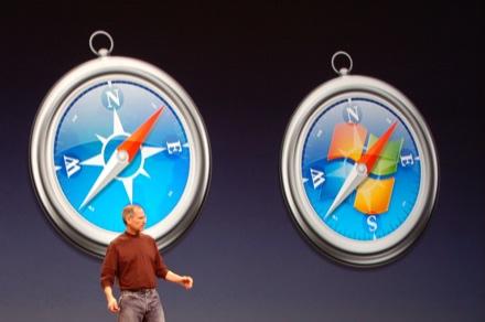 el mitico lanzamiento de Safari