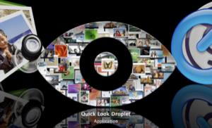 QuickLookDroplet